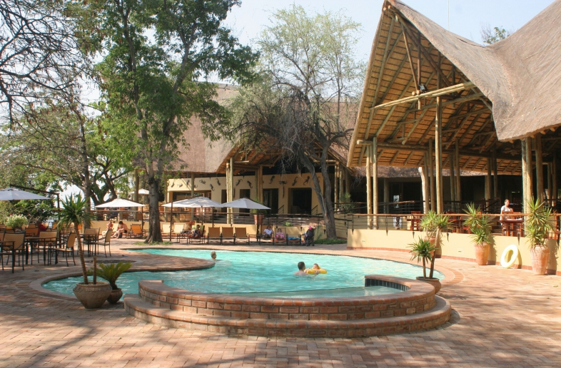 Chobe Safari Lodge – Campsite