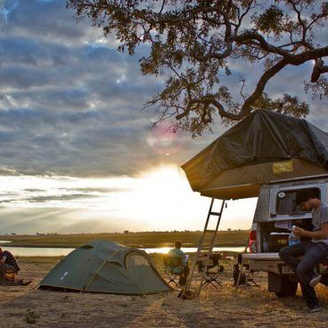 Camping at the Chobe River