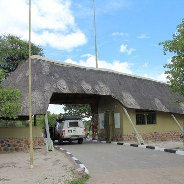 Hilux automaat Moremi Botswana