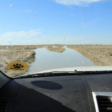Toyota Hilux Kalahari Woestijn