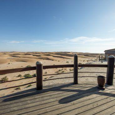 uitzicht zandduinen swakopmund b&b