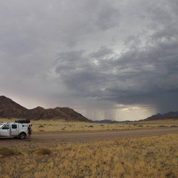Namibië groene seizoen