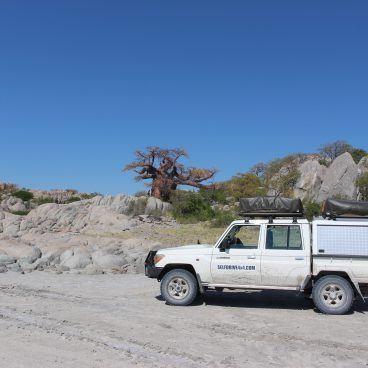 Safari Botswana Kubu Island