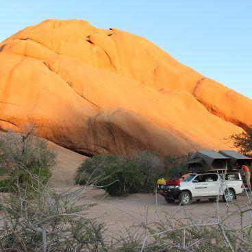 Spitzkoppe Namibië