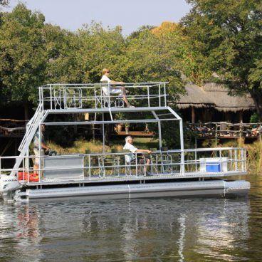 Kwando river cruise