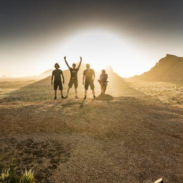Zonsondergang bij Spitzkoppe