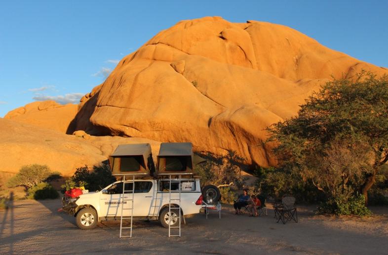 Spitzkoppe Restcamp