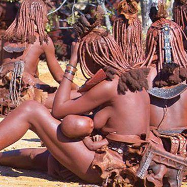 Himba Kaokoland in Namibië