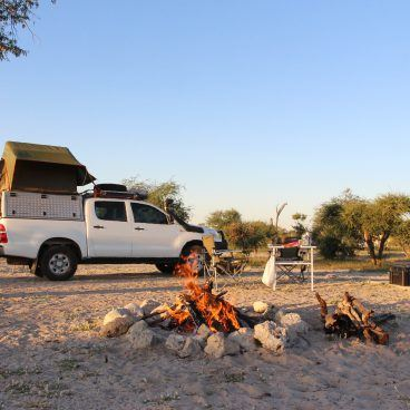 Kamperen in Botswana