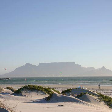 Tafelberg Zuid-Afrika Blauwberg strand