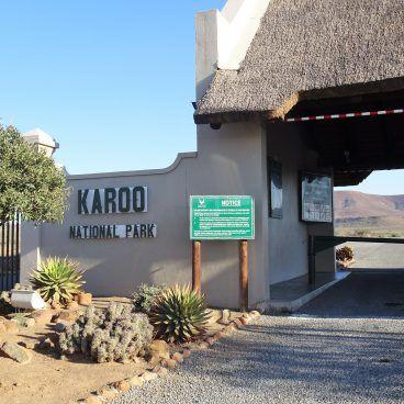 Karoo National Park Zuid-Afrika