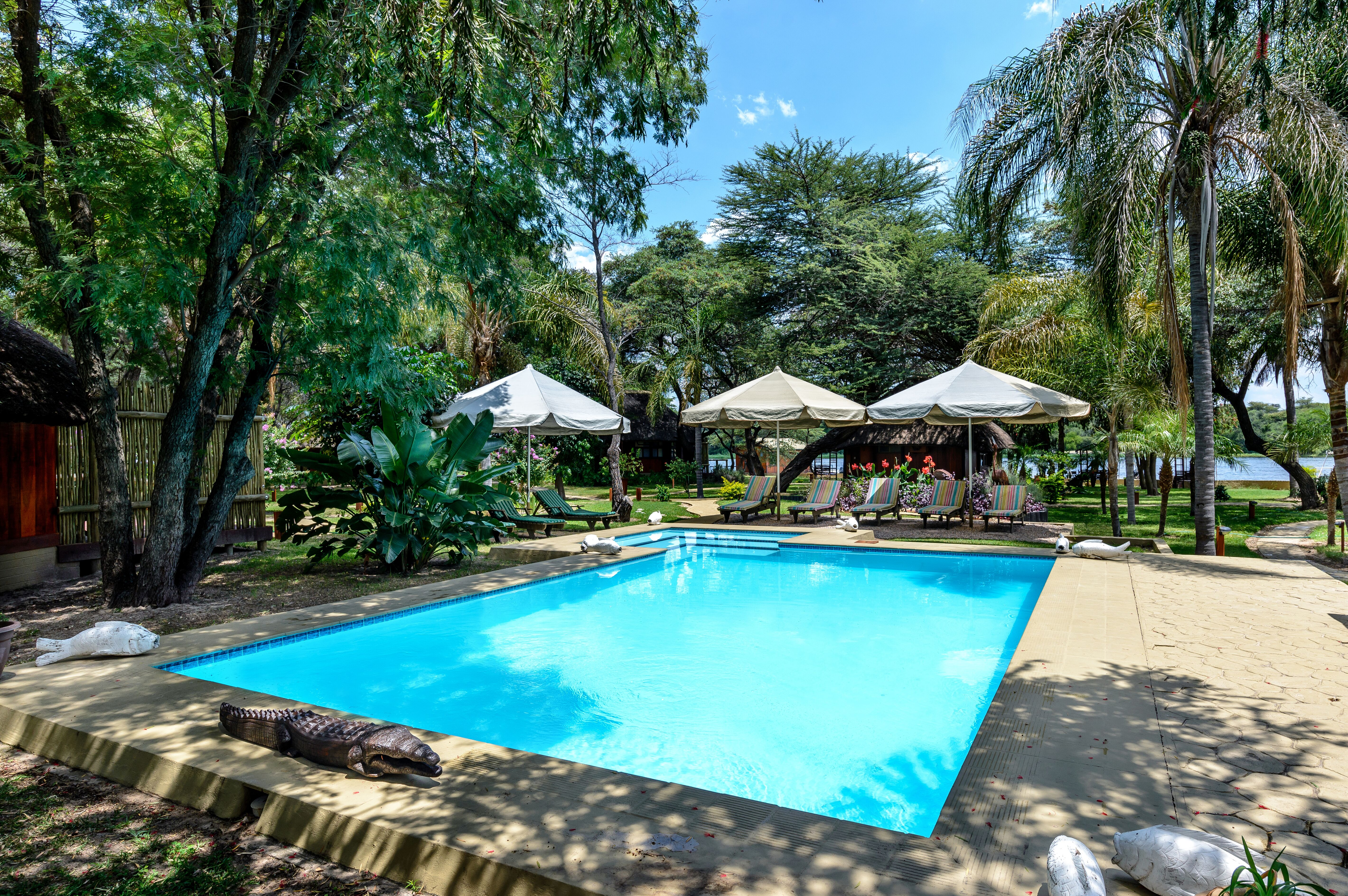 Hakusembe River Lodge – Campsite