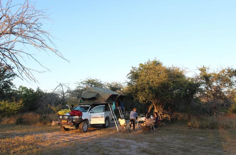Linyanti – Safaritent