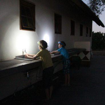 WC gebouw Xakanaxa