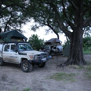 Landcruiser self drive Botswana