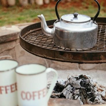 Erindi Camp Elephant water kettle