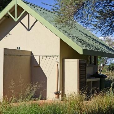 Erindi Camp Elephant Private Campsite