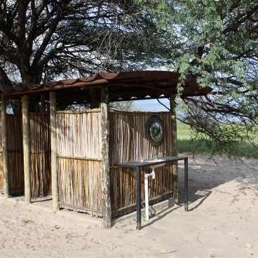 Chobe River Camp campsite ablution