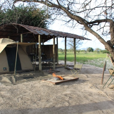 Chobe River Camp campsite